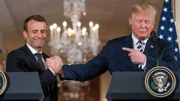 Presidents Trump, Macron entertain new deal to block Iran's nuclear ambitions