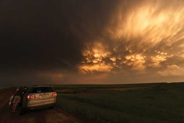 A Storm Chaser's Unforgiving View of the Sky |