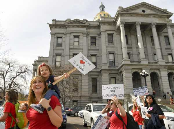 Colorado teachers are going on strike. State Republican lawmakers want to punish them with jail time.