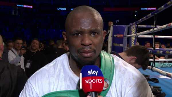 Dillian Whyte feels betrayed after WBC denied him a mandatory title fight with Deontay Wilder