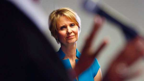 Cynthia Nixon rallies progressives not to settle in their choice of Democrats