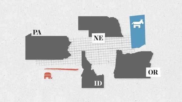 Primary election results: Pennsylvania, Idaho, Nebraska