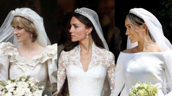 Royal Weddings, Then and Now: Meghan Markle, Kate Middleton, and Princess Diana |