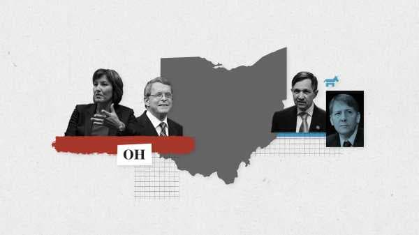Live results for Ohio's governor, Senate, and House primary races