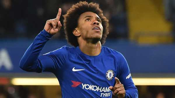 Willian wants out of Chelsea with Manchester United interested
