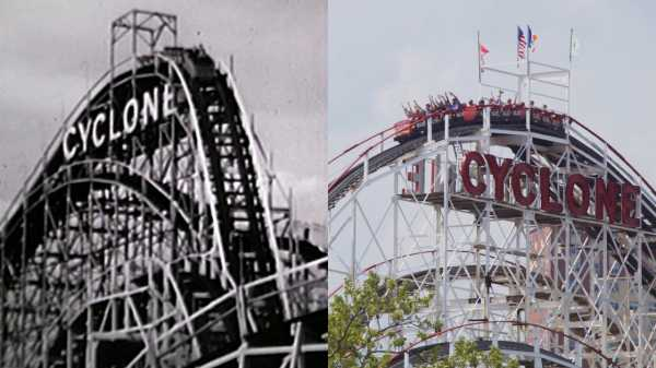 Coney Island, Then and Now—the Cyclone, Nathan's Famous, and the Wonder Wheel |