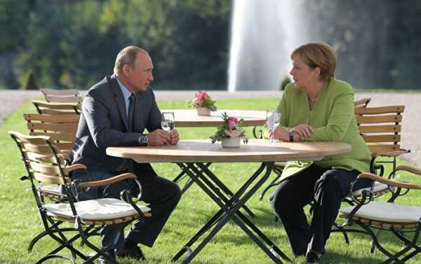 Putin, Merkel Agree Nord Stream 2 Should Not Be Politicized - Kremlin