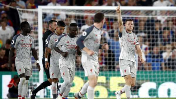 Liverpool show defensive resolve away to Crystal Palace