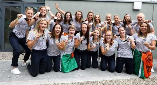 Silver medallists return from Hockey World Cup
