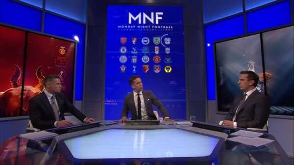 Jamie Carragher and Gary Neville question Rafael Benitez's tactics