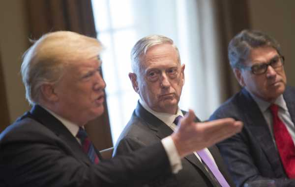 Trump is reportedly souring on Defense Secretary Jim Mattis