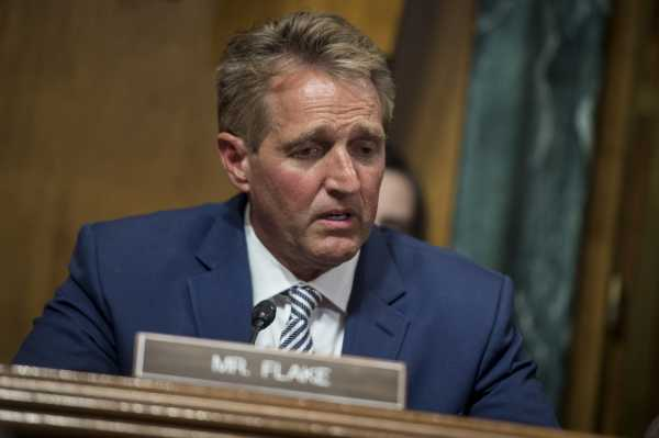 Jeff Flake said he wants a delay on the Senate's Kavanaugh vote. Here's what it means.