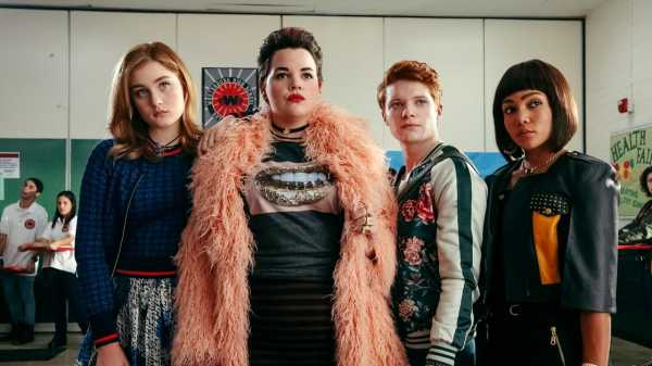 """Heathers,"" Reviewed: The TV Remake of the Classic Teen Comedy is a Feat of Hostile Farce 