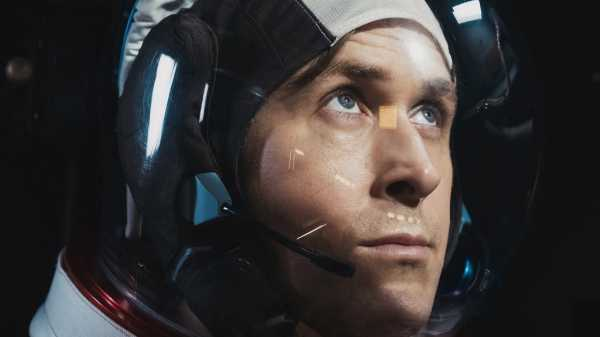 """First Man,"" Reviewed: Damien Chazelle's Neil Armstrong Bio-Pic Is an Accidental Right-Wing Fetish Object 