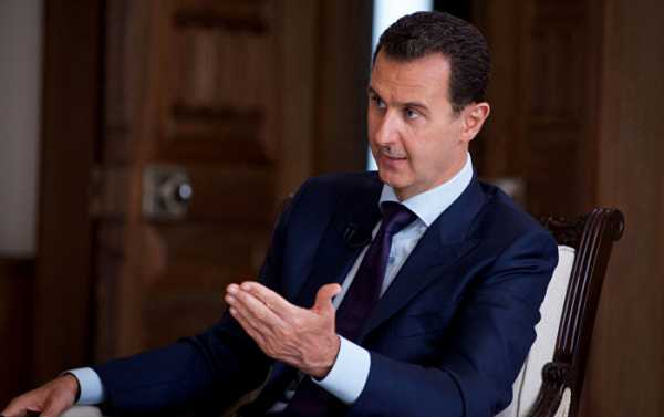 Assad: Idlib Ceasefire 'Temporary', Gov't Will Restore Control Over All of Syria