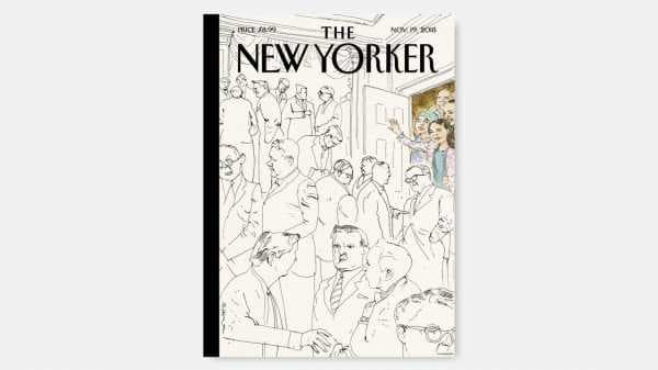 "Cover Story: Barry Blitt's ""Welcome to Congress"" 