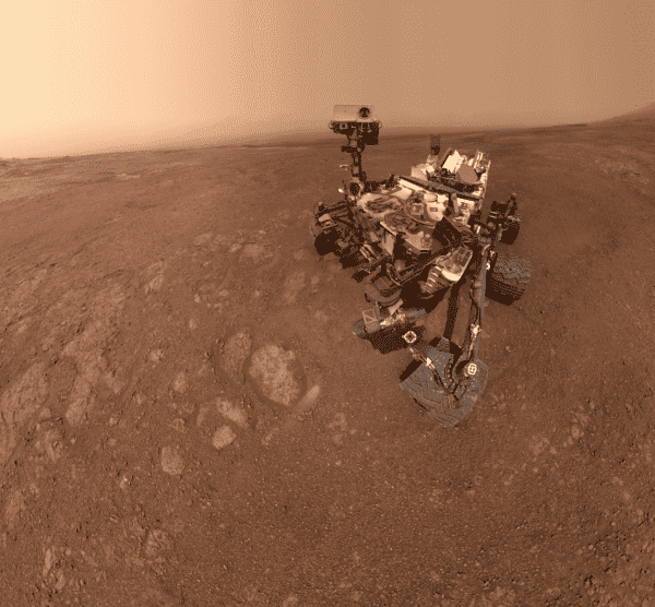 NASA's Curiosity Rover Snaps Last Selfie on Mars' Vera Rubin Ridge (PHOTO)
