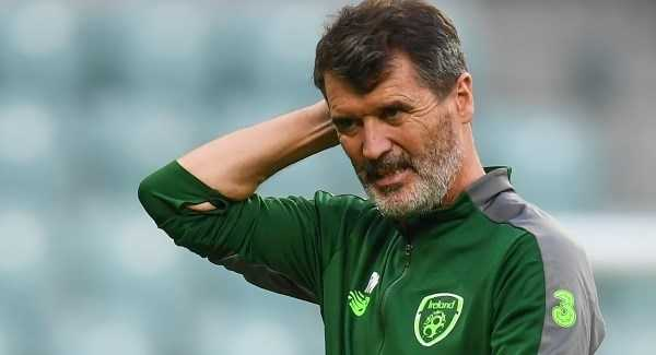 Roy Keane voted Ireland's greatest footballer of all time
