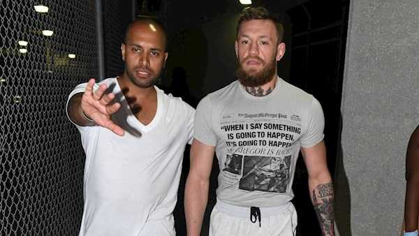 McGregor breaks silence following Miami arrest