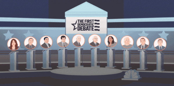 What to expect at the first Democratic presidential debate