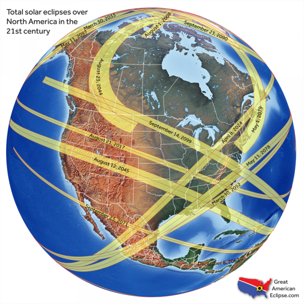 A solar eclipse is coming for Chile and Argentina