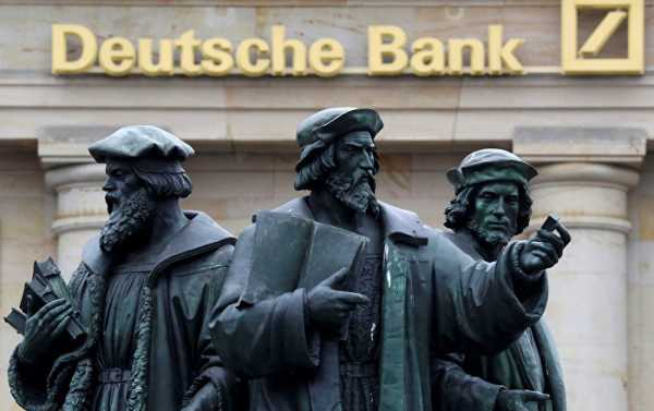 Will Lehman Brothers Bankruptcy Seem a Childish Prank, Compared to the Future Fate of Deutsche Bank?