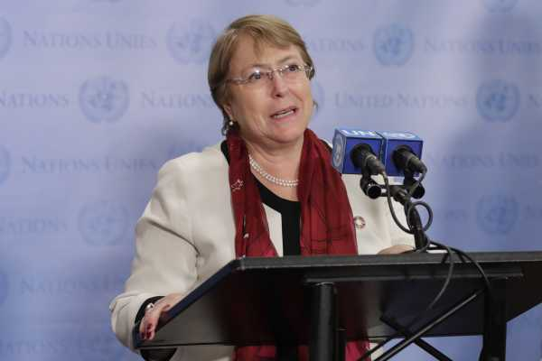 "UN human rights chief is ""deeply shocked"" by US treatment of migrants"