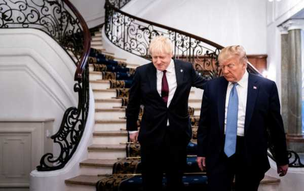 Johnson, Trump Agree to Launch Special Relations Economic Working Group at G7 Summit