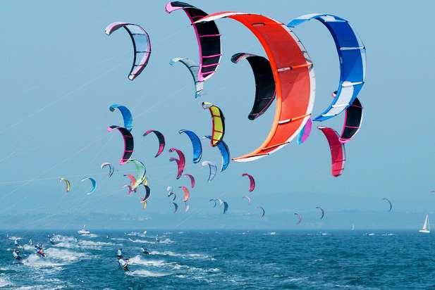 Kiteboarding in Egypt