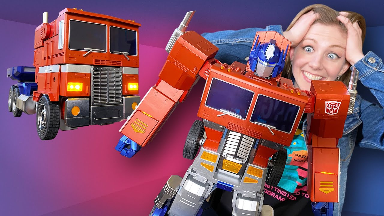 More Than Meets the Eye: Auto-Transforming Optimus Prime Robot Available for $700