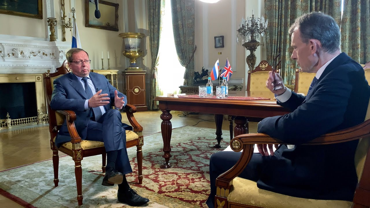 Russia is Not the Aggressor in Ukraine, Ambassador to UK Says