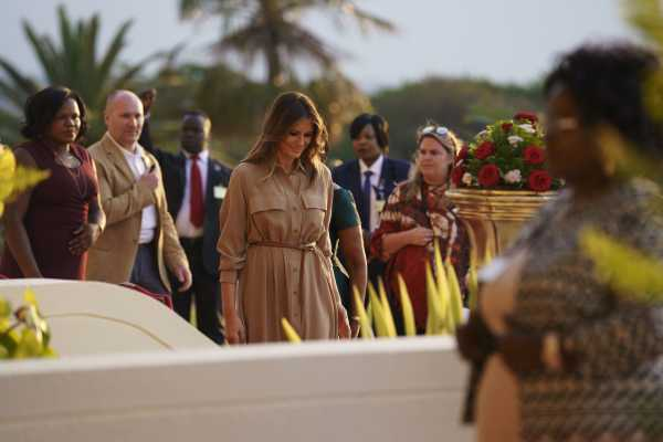 "Trump's alleged ""shithole"" comments come back to haunt Melania during Africa visit"