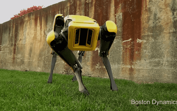 Boston Dynamics Robot Hits the Internet - With Running Man Dance